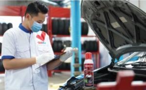 CARfix memiliki Anti Desinfektan Khusus untuk Mobil, dalam rangka mencegah penyebaran covid 19 ini diberikan Gratis setiap pelanggan yang melakukan perawatan service berkala di seluruh outlet CARfix.(ist)