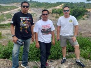 Dari kiri Fiddoh M, Memen Harianto dan TB Adhi, concern untuk kemajuan motorsport