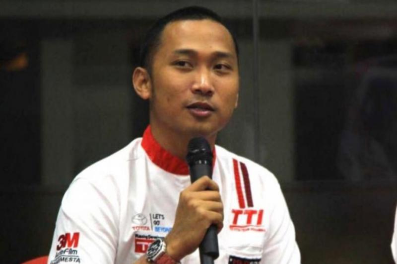 Adrianza Yunial, peslalom Toyota Team Indonesia (foto : hf)