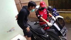 Service Kunjung Yamaha, alternatif servis motor di rumah selama work from home
