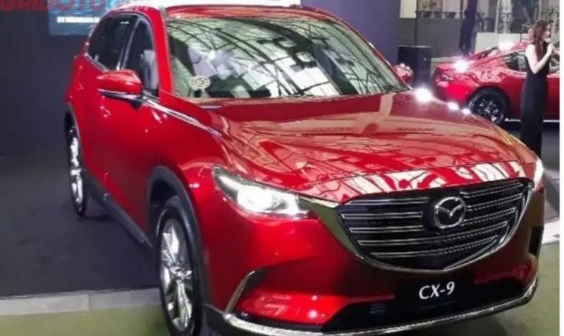 All New Mazda CX-9 saat diluncurkan di Jakarta beberapa waktu lalu. (Foto : GridOto.com)