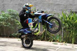 Modifikasi Yamaha X-Ride: Tampang  Sangar Nan Gahar, Tapi Tetap Santuy