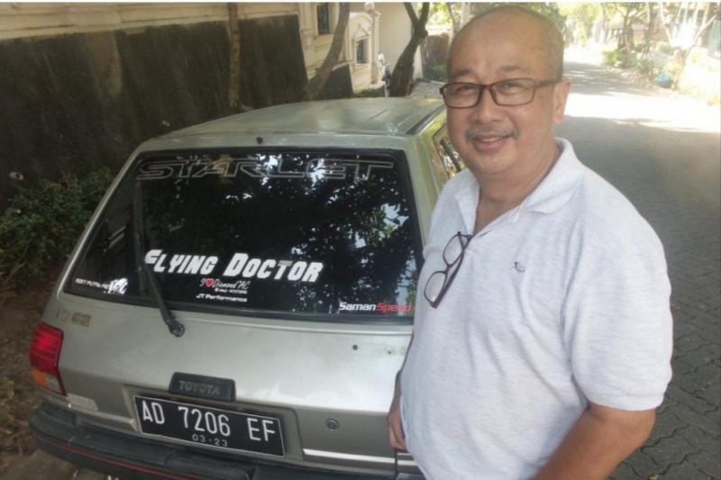 dr Hery Agung Setianto, tahu kapan harus benar-benar berhenti dari ajang motorsport. (foto : stangstir)