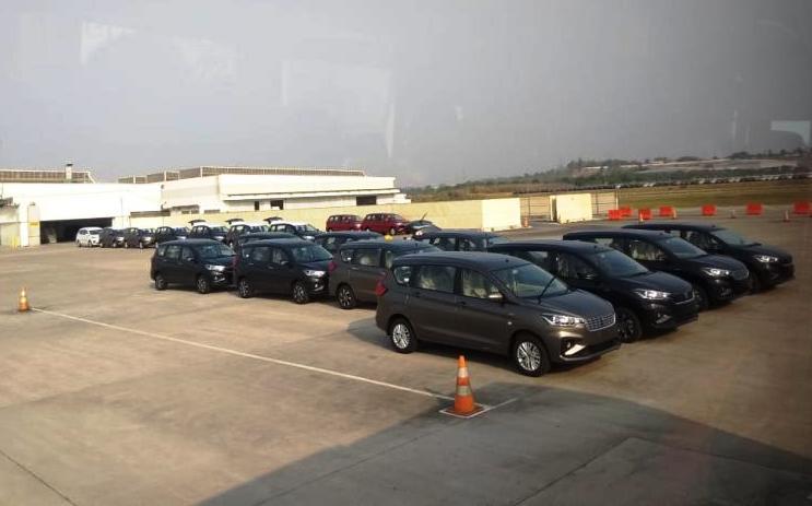 Suzuki Indonesia secara bertahap mulai mengoperasikan kembali pabrik mulai tanggal 26 Mei 2020. (anto)