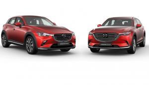 """New Mazda CX-9 AWD dan CX-3 Facelift ini diperkenalkan dalam """"Mazda Virtual Launching"""" di sejumlah media sosial (medsos) resmi Mazda Indonesia. (anto)"""