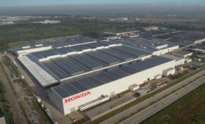 Aktifitas pabrik Honda PT Honda Prospect Motor dihentikan 2 minggu mulai 13 April mendatang. (Foto : hpm)
