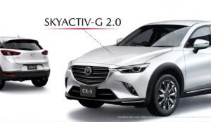 PT Eurokars Motor Indonesia (EMI) meluncurkan New Mazda CX-3 dalam bentuk video produk di sejumlah media sosial (medsos) resmi Mazda Indonesia (3/4/2020).(anto)