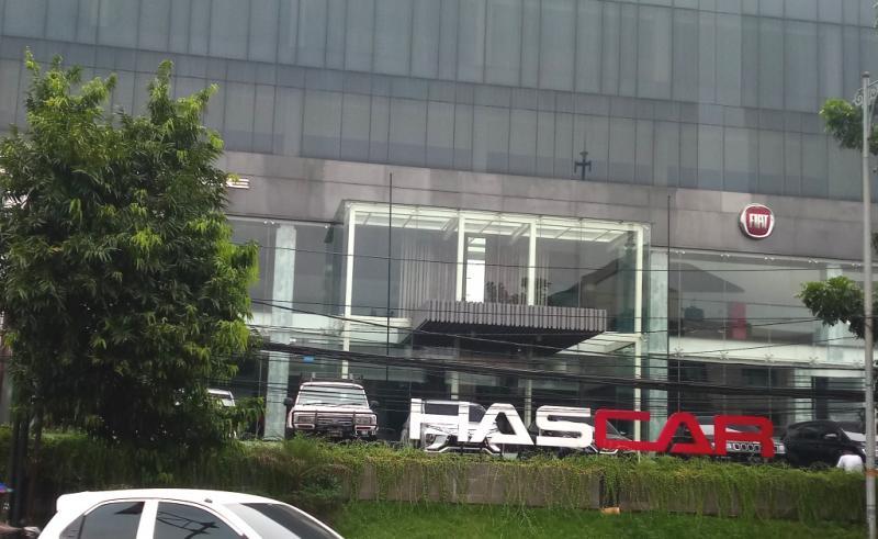 Kantor pusat Hascar International Motor di jalan Warung Buncit, Jakarta Selatan. (foto : hf)