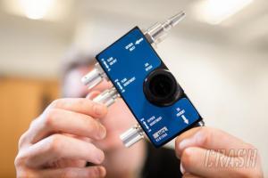 Alata bantu pernafasan temuan F1 yang memungkinkan korban virus Corona tak harus pakai ventilator. (Foto: crash)