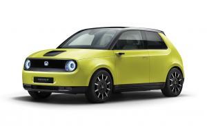 Honda e adalah kendaraan listrik generasi baru buatan Honda yang dirancang dengan desain simpel. (ist)
