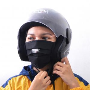 Beli helm RSV sekaligus ikut berdonasi untuk mengatasi virus covid-19. (foto : ist)