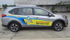 Program Home Service Honda saat ini didukung sebanyak 118 dealer di berbagai kota di Indonesia. (ist)