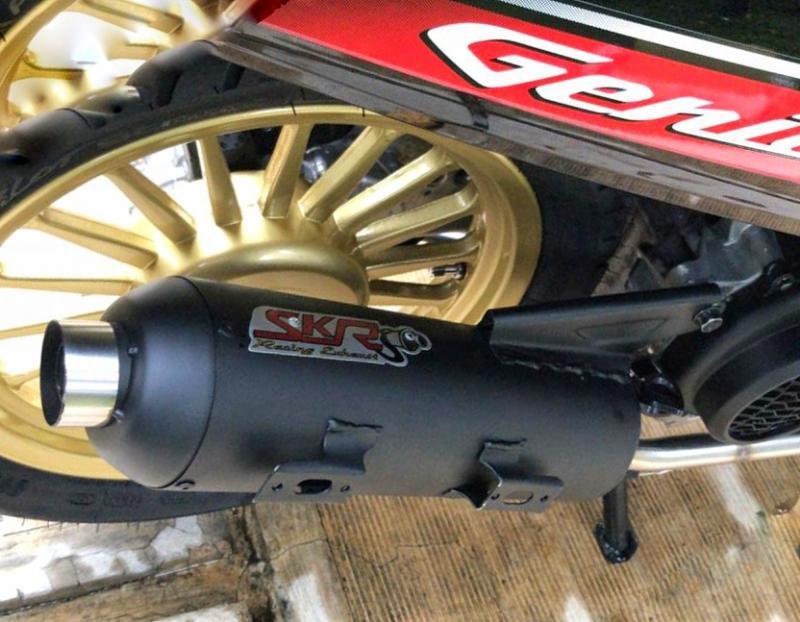 Fresh From The Oven, Knalpot SKR Standar Racing Honda Genio Sudah Beredar