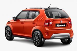 Desain bumper belakang New Ignis kini hadir dengan rear reflector dan diffuser.(SIS)