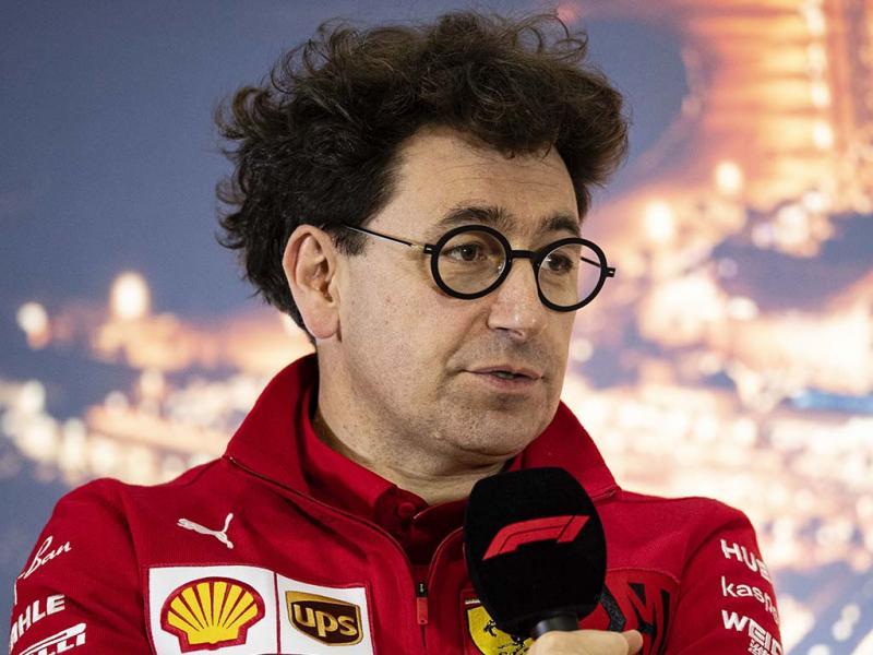 Mattia Binotto, Kepala Tim Scuderia Ferrari optimis F1 tetap akan berjalan tahun ini.