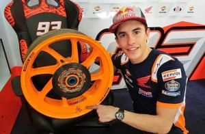 Wow, Marc Marquez Menjual Pelek Bekas Honda RC213V MotoGP 2018