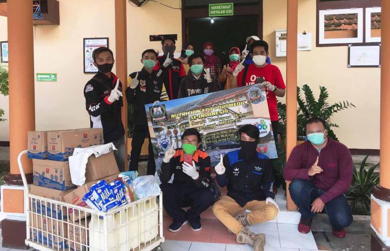 Peringati Hari Jadi Ke-11, Honda BeAT Club Malang Gelar Nutrition For Paramedic