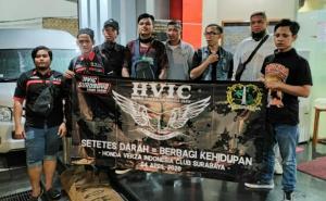 Demi Setetes Darah, HVIC Surabaya Gerudug Kantor PMI Surabaya