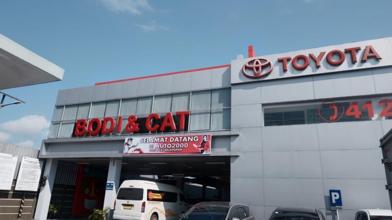 Terdapat layanan Drop Off & Delivery Service bagi Auto Family yang ingin melakukan perbaikan Body & Paint Kendaraan.(ist)