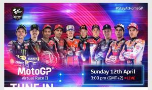 Hore, MotoGP Virtual Race II Segera Berlangsung