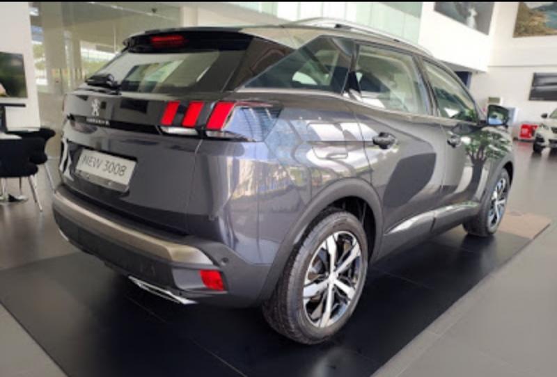 Warna baru Peugeot 3008 SUV Allure Plus Aster Grey
