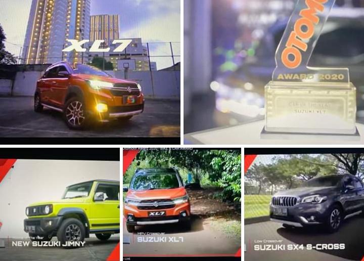 Dua model unggulan lainnya yakni Suzuki SX-4 S-Cross diganjar Best Low Crossover dan New Suzuki Jimny yang dinobatkan sebagai Rookie of The Year. (foto: Harold Donnel).