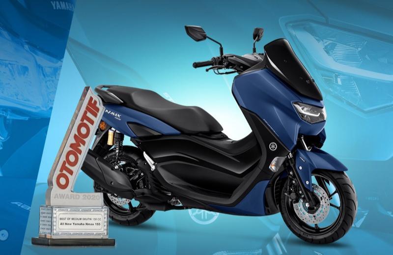 All New NMax 155 raih Best of Medium Skutik 150cc pada ajang Otomotif Award 2020. (Foto : ist)