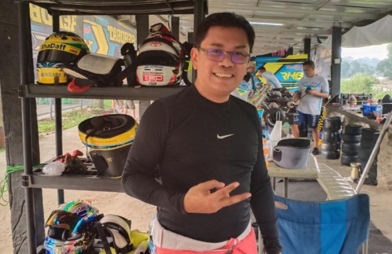 Fredi Rostiawan, penyelenggara Meikarta Sprint Rally & Drifting Series 2020. (foto : bs)