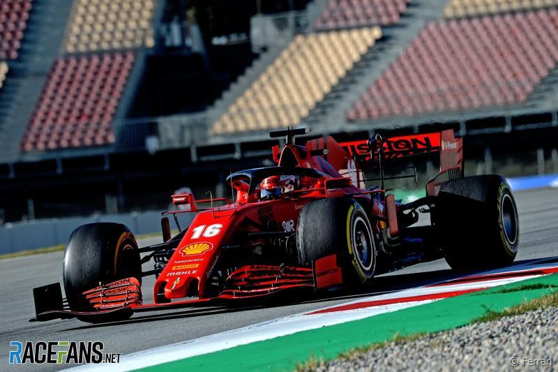 Charles Leclerc (Ferrari), salah satu yang dinanti fans F1 untuk musim 2020. (Foto: racefans)