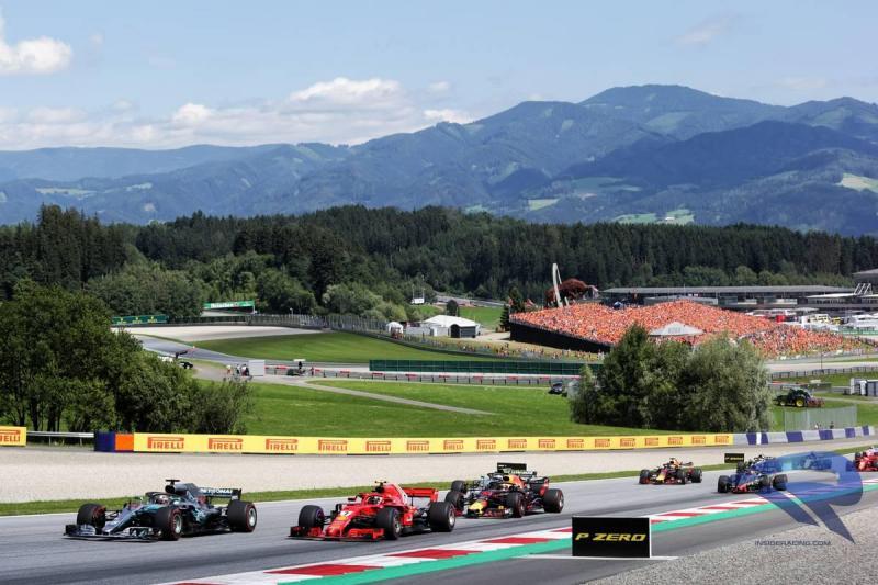 Pesona Sirkuit Red Bull Ring di Spielberg, Austria, tahun ini siap tanpa penonton. (Foto: insideracing)