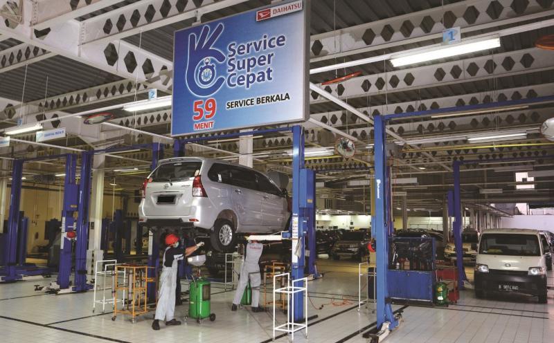 Daihatsu memberikan solusi dan dispensasi berupa perpanjangan warranty atau garansi khusus bagi pemilik mobil Daihatsu. (Ist)
