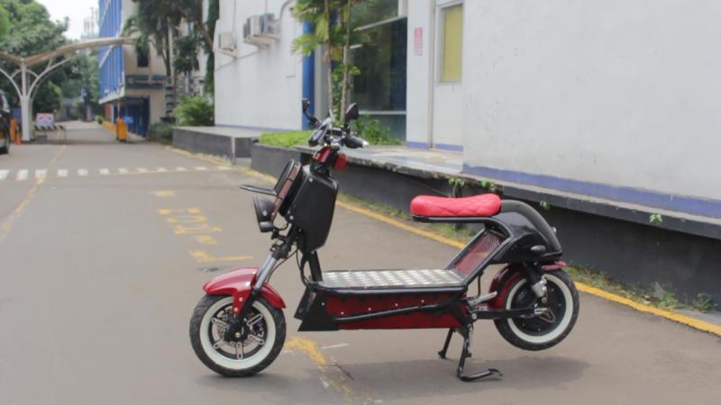 Motor listrik CEV01 besutan Universitas Budi Luhur (photo:ist)