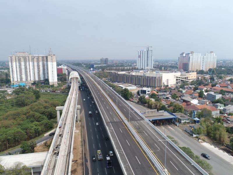 Jalan Tol Layang Cikampek akan ditutup sementara (foto : ist)