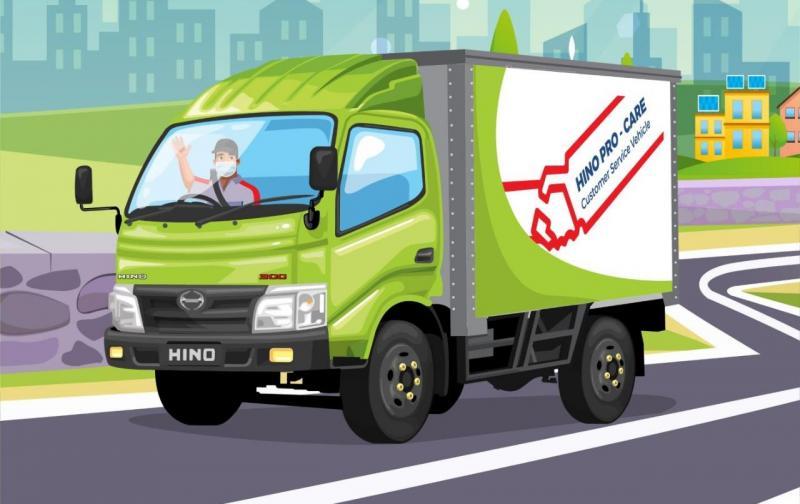 Cukup telepon, maka Hino Mobile Service yang dilengkapi dengan peralatan canggih dan mekanik terlatih akan datang ke lokasi customer.