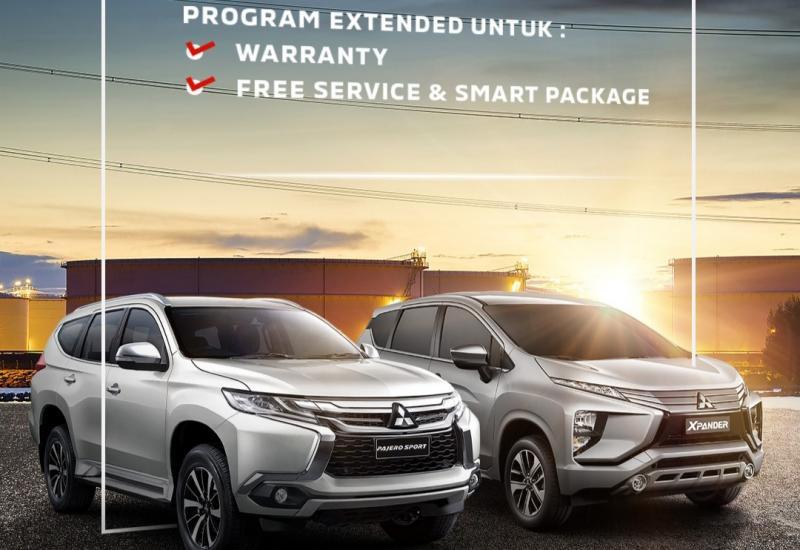 Perpanjangan masa garansi dan free service untuk seluruh model dan varian mobil Mitsubishi
