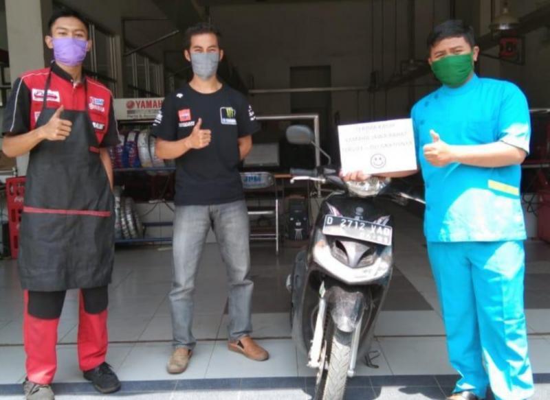 Service dan ganti oli gratis dari Yamaha untuk para pahlawan garda terdepan melawan covid19