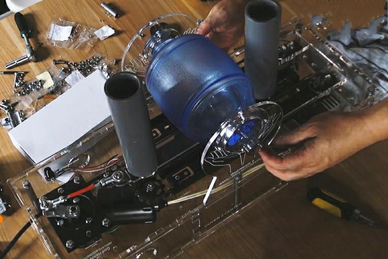 Ventilator rancangan Wahyu ini mengandalkan Ambu Bag yang biasa digunakan untuk medis, banyak dijual di Tokopedia. (ist)