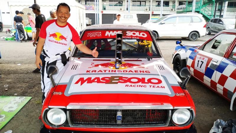 Tjandra tetap siap mengarungi balap dua kali dalam satu bulan di ISSOM 2020. (foto : ist)