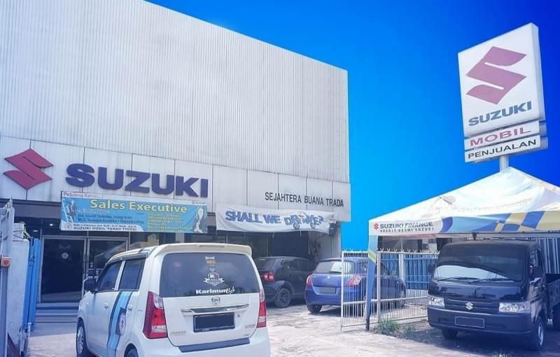 PT. Suzuki Indomobil Sales (SIS) menerapkan protokol kesehatan bertajuk Suzuki Hygiene Commitment di seluruh dealer-nya. (Foto: Suzuki trada)