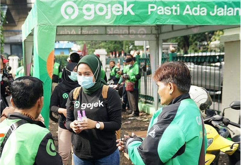 Salah satu wujudnya, Gojek mengaktifkan 130 Posko Aman Bersama Gojek. (gojekindonesia)