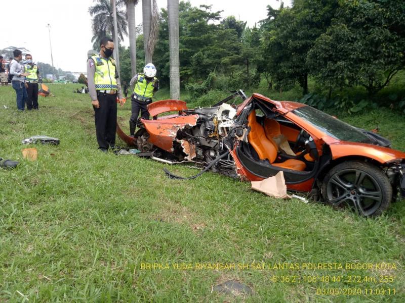 Kerusakan terparah ada pada bagian buritan tempat ruang mesin (posisi mesin ada di belakang / rear engine). (ist)