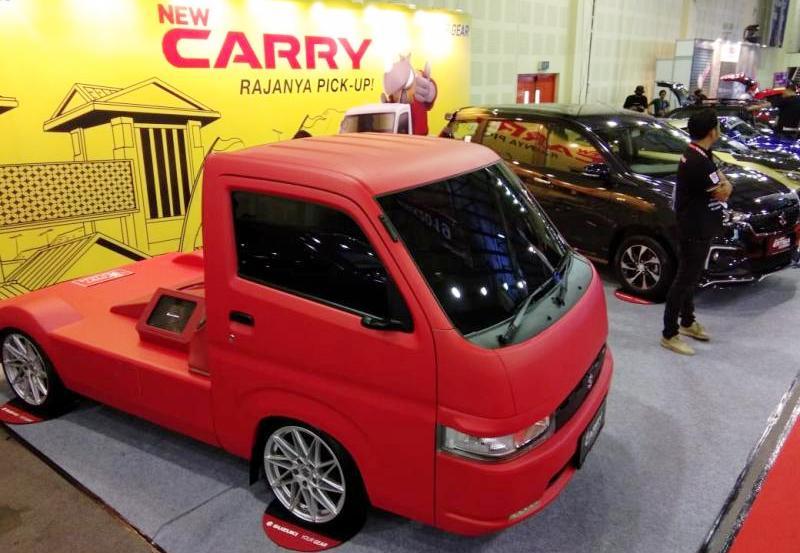 Di IMX 2019 lalu, Suzuki menghadirkan New Carry Fluzh Concept dan All New Ertiga Suzuki Sport. (ist)