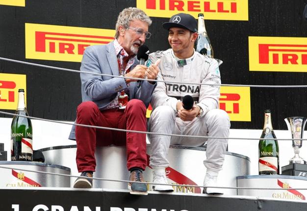 Eddie Jordan bersama Lewis Hamilton. (Foto: gettyimages-wheels24)