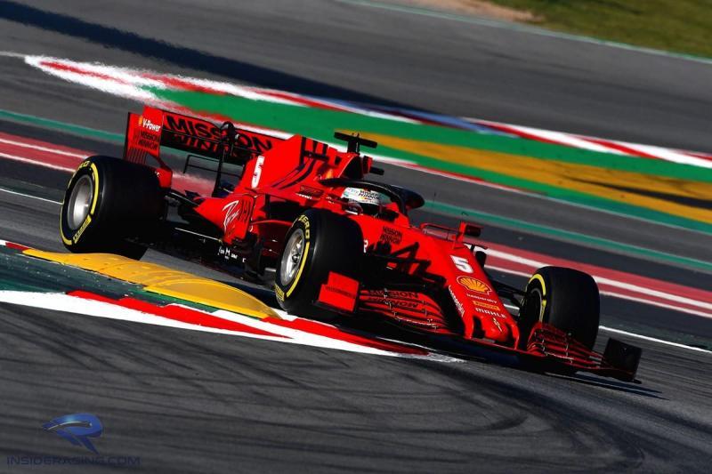Sebastian Vettel, akankah bertahan di Ferrari setelah ada pembaruan bunyi kontrak? (Foto: insideracing)