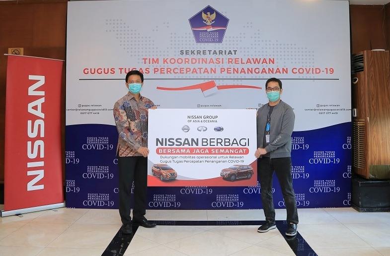Bantuan ini mempertegas komitmen Nissan untuk terus mendukung pemerintah selama masa sulit seperti saat ini.(ist) .