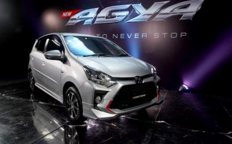 Launching Toyota Agya facelift pada Maret lalu menjadi produk pertama diluncurkan secara virtual di masa pandemi covid19. (foto : tam).