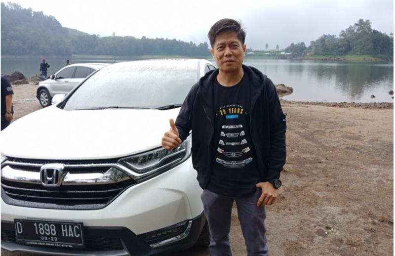 Yusak Billy, bos PT Honda Prospect Motor fokus beroperasi secara efisien dan pelayanan terbaik bagi konsumen. (foto : drivenhype)