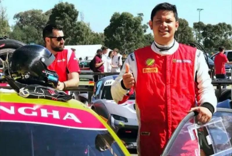 Rama Danindro, memprediksi pembalap F2 Sean Gelael akan mendominasi round 1 Ramadhan Balap Indonesia 2020. (foto : ade satya)