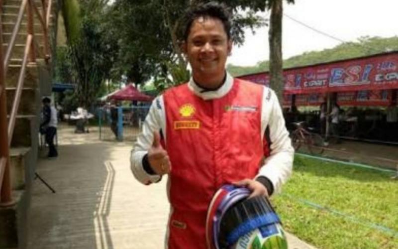 Rama Danindro, kuncinya konstan dan terus memimpin dalam 20 menit race Ramadhan Balap Indonesia 2020. (Foto : bs)