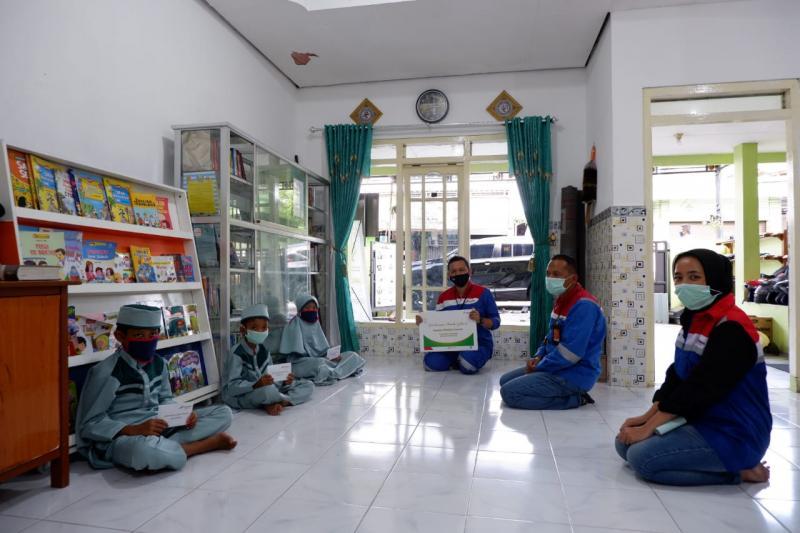Santunan untuk anak yatim dari Pertamina Lubricants di bulan Ramadhan